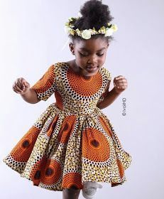 Ankara Xclusive: Latest Ankara Styles: Ankara Styles For Kids That Will Blow your Mind Ankara Styles For Kids, African Dresses For Kids, African Children, African Print Dresses, African Women, Girls Dresses, African Prints, African Clothes, African Babies