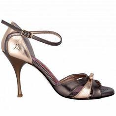 BANDOLERA A3F BRONZE<br>Chaussure de tango
