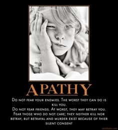 apathy quotes - Google Search