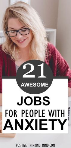 Jobs For People With Anxiety Jopsforpeoplewithanxiety Profile Pinterest