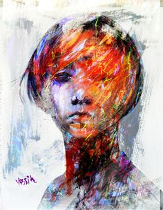 "Saatchi Online Artist yossi kotler; New Media, ""internal blindness"" #art"