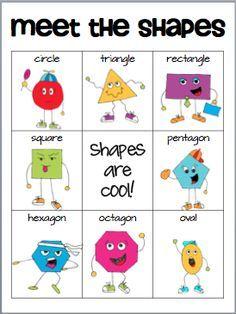 Classroom Freebies Too: Meet the Shapes
