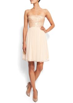 looooove this dress! i would wear it with nude matte platforms