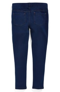 Tucker + Tate 'Sadie' Denim Leggings (Little Girls & Big Girls) available at #Nordstrom