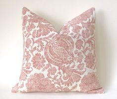 Offered is one Blush and cream pillow cover, in your choice of fabric and size. The Batik Floral is Cream and shades of Blush, the Tile pattern pillow is blush and grey on cream.Care Info: Machine wash delicate, lay flat to. Blush Pillows, Coral Pillows, Euro Pillows, Euro Pillow Shams, Pillow Fabric, Cream Pillow Covers, Sofa Pillow Covers, Blush And Grey, Fabric Samples