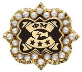 History and Pearls: Being a Phi Mu and Celebrating NPC Badge Day Sister Love, To My Daughter, Phi Mu, Sorority Life, Quatrefoil, Fraternity, Two By Two, Pearls, History