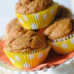 Whole Wheat Pumpkin Muffins HealthyAperture.com