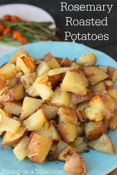 Rosemary Roasted Potatoes - made perfectly on the grill!