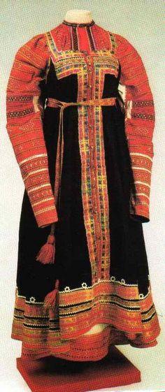 Русский костюм. Московская губерния - Ярмарка Мастеров - ручная работа, handmade