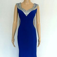 Royal blue evening gown. Only 1 Available! New never worn royal blue evening gown. Dresses Maxi