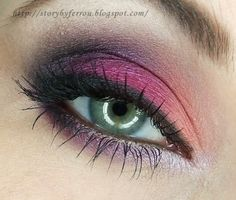 Flashy Pink created by Ferrou on Makeup Geek