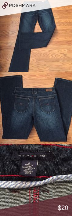 """Tommy Hilfiger jeans Tommy Hilfiger modern rise bootcut jeans, inseam 32 1/2"""" like new condition Tommy Hilfiger Jeans Boot Cut"""