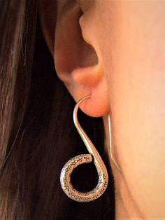 Silver earrings. Silver Jewellery. Ethnic Jewellery. Ethnic