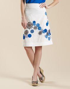 Monsoon - Katie Circles Skirt