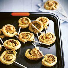 Partysnacks Zucchini Käse Fingerfood