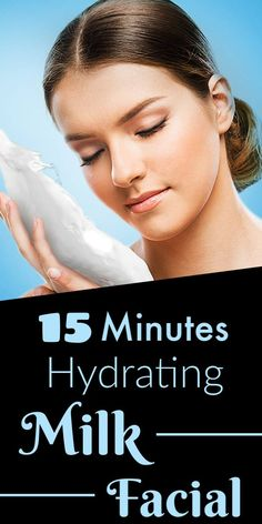 15 minutes hydrating milk facial for bright , glowing & healthy skin Face Care Tips, Face Skin Care, Skin Care Tips, Skin Care Treatments, Acne Treatment, Dry Skin Remedies, Dark Lips, Clean Face, Clear Skin