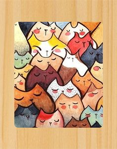 Mountain of Cats Mousepad