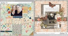 The latest digital scrapbooking news, challenges, freebies and inspirational stuff from your favorite SWEET spot! Best Friends Forever, Bingo, Shadow Box, Digital Scrapbooking, Besties, Archive, Gallery Wall, Challenges, Frame