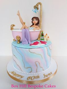 Bath Cake by Noreen@ Box Hill Bespoke Cakes