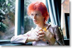 Mick Rock. David Bowie. Haddon Hall Reflection, 1972. Libros TASCHEN