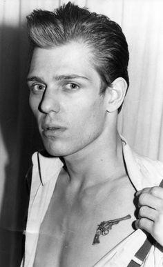 Paul Simonon from The Clash.