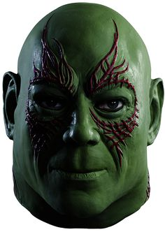 Rubie's Costume Men's Guardians Of The Galaxy Overhead Drax The Destroyer Mask -- See this great product.