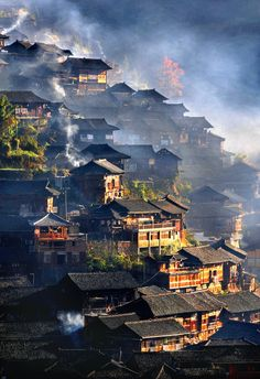 colorel11:  ancient chinese architecture