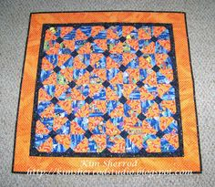 Lily Patch Quilts: Halloween quilt