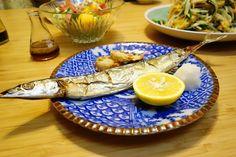 秋刀魚の塩焼き #meallog #food #foodporn #cooking