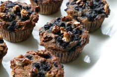 Banana Blueberry Muffins  (SCD recipe)