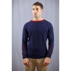 Hooligan Crewneck Sweater  Cotton Cashmere Made in the USA