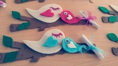 Anneler günü için kuş magnetlerimizz