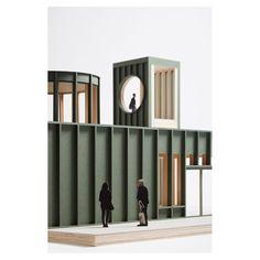 Maquette Architecture, Architecture Model Making, Innovative Architecture, Studios Architecture, Commercial Architecture, Modern Architecture House, Facade Architecture, Sustainable Architecture, Architects London