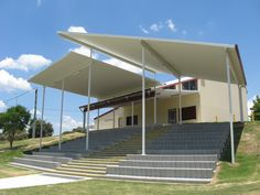 Another great example of Ritek roof panels used at a sporting facility clubhouse.