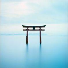 Shirahige Shrine, Shiga, Japan