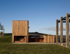 Hill Plains House - Blackbutt cladding
