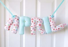 APRIL  Personalized Baby name wall hanging name by kinderkraft, £25.00