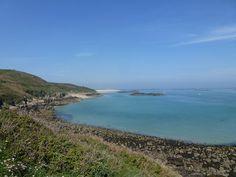 Guernsey Day 2 – Bluebells, Sunset and Herm Island   Baldhiker
