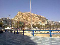 Playa Postiguet, Alicante, Spain