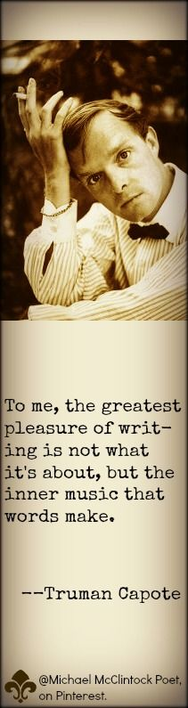 Truman Capote quote.
