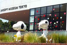 テーマは手紙スヌーピーミュージアムでバレンタインウィークがスタート