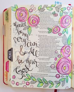 blog about bible journaling and other DIY projects