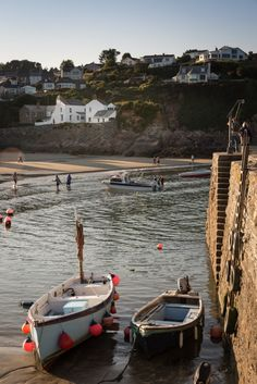 Luxury self-catering fisherman´s cottage in Gorran Haven, Cornwall - Photography, Landscape photography, Photography tips British Seaside, British Countryside, British Isles, Fishermans Cottage, St Just, Devon And Cornwall, Cottages By The Sea, Holiday Places, England And Scotland