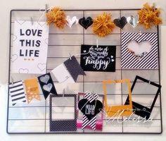 Hello Life Home Decor by Melissa Davies @ rubberfunatics