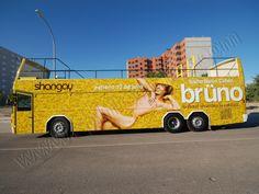 Autobús Descapotable Rotulado Integral | SP Integrales Autocar descapotable para el Desfile del Orgullo Gay para la revista Shangay