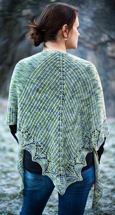 Havina shawl : Spring+Summer 2014 Knitty.com  Uses Araucania yarns Botany Lace (aka Huasco) yarn http://knittingfever.com/araucania/yarn/huasco/
