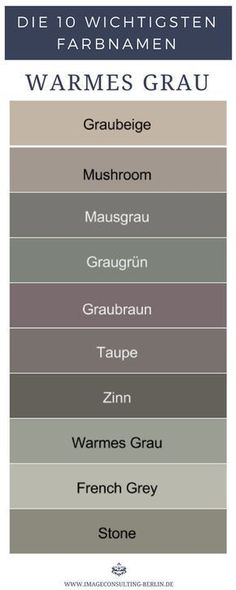 Warm shades of gray are gray-beige mushroom mouse gray gray-green greyish brown taupe . House Color Schemes, House Colors, Gris Taupe, Warm Home Decor, French Grey, Warm Grey, My New Room, Shades Of Grey, Wall Design