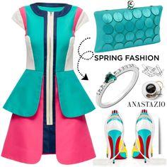 Anastazio-spring dress