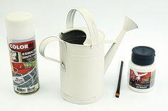 Regador decorativo - Portal de Artesanato - O melhor site de artesanato com passo a passo gratuito