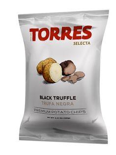 Selecta Potato Chips Black Truffle